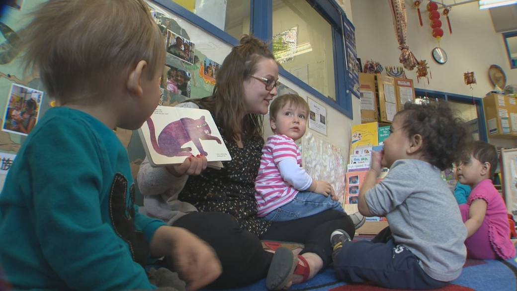 Alberta NDP make push to keep $25-a-day childcare program