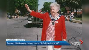 Hazel McCallion to turn 100 years old on Sunday (03:01)