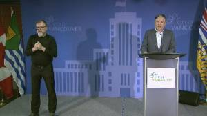 Vancouver mayor plots path forward for economic recovery in tech, film and hospitality sectors