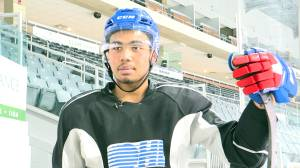 Kingston Frontenacs forward Zayde Wisdom is enjoying a breakout season