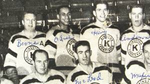 Willie O'Ree played for the Kingston Frontenacs in 1959 (01:46)