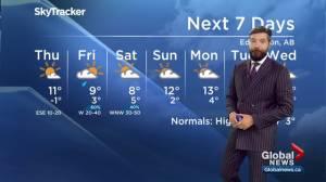 Edmonton Weather Forecast: Oct. 2