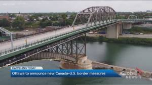 Ottawa to announce new Canada-U.S. border measures (04:47)