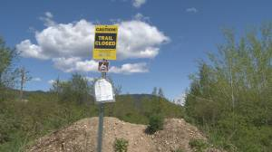 Sicamous to Armstrong rail trail not open
