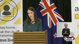 Coronavirus outbreak: New Zealand PM says Easter Bunny is 'essential worker' (00:54)