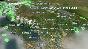 BC Afternoon Weather: July 31 (03:57)