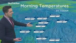 Kelowna Weather Forecast: December 3 (03:16)