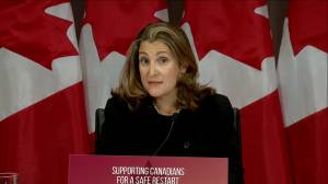 Coronavirus: Freeland says government working on rent relief for small business, asks landlords to help