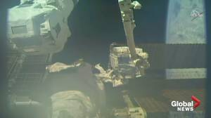 Astronauts change batteries in 1st of 5 ISS spacewalks