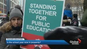 As battle over education heats up, could back to work legislation be on the horizon?