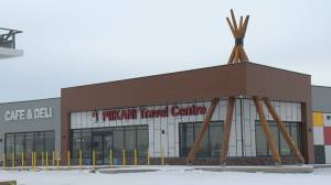 Piikani Travel Centre seeks help from Alberta Transportation (01:55)