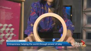Toy designer and inventor is reshaping the future of learning through play (02:47)