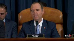 Trump impeachment hearings: Adam Schiff opening statement on day two
