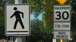 Alberta RCMP on pedestrian safety