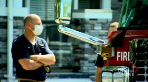 City deems Calgary firefighters eligible for COVID-19 vaccine after Phase 2C omission (01:32)