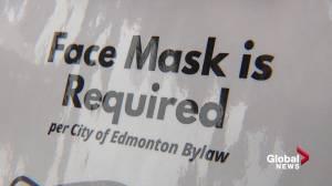 Edmontonians weigh in on return of mask mandate (02:02)
