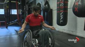 Wheelchair athlete Leo Sammarelli's fighting spirit