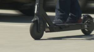 Electric scooter pilot program launched in B.C. (02:11)