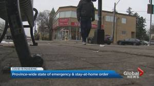 Ontario government promises heightened enforcement during COVID-19 emergency (02:09)