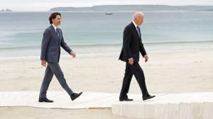 Biden stars at G7 summit, Trudeau talks detained Cdns in China (01:51)