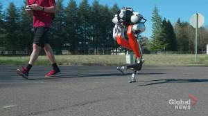 Bipedal 'Cassie' becomes 1st robot to complete 5K run: Oregon State University (01:47)