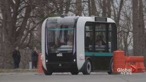 Toronto's 1st self-driving shuttle set to arrive in spring 2021 (00:56)