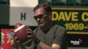 Equipment manager for Edmonton's CFL team confirms club has let him go after 49 years (01:51)