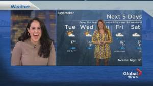 Global News Morning weather forecast: March 23, 2021 (02:10)