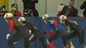 Kingston speed skaters take on Ontario's best