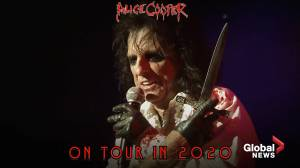 Alice Cooper announces 'Ol Black Eyes is Back tour, with 7 Canadian dates.