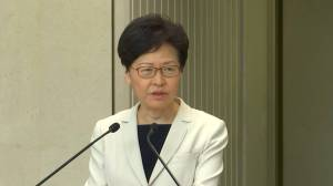Hong Kong's Carrie Lam says escalation of violence in protests becoming more serious