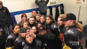 Regina Peewee B Rebels nominated for Chevrolet Good Deeds Cup