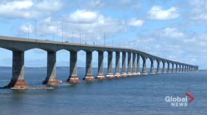 Confederation Bridge sees long lines after opening Atlantic travel