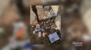 Calgary man warns of hidden hazards in effort to clean up Olympic Plaza