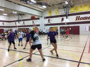 Students compete in Peterborough region Special Olympics basketball qualifier
