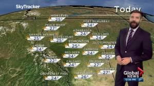 Edmonton afternoon weather forecast: Monday, May 31, 2021 (03:27)