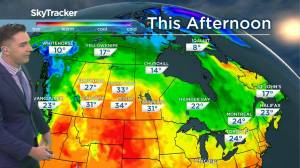 Hot temperatures continue: August 18 Saskatchewan weather outlook