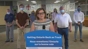 Coronavirus: Ontario health official explains why mandatory testing not being used for teachers
