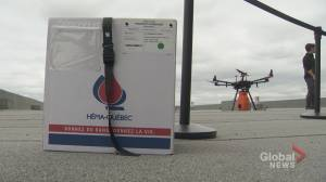 MUHC uses drone technology to help save lives