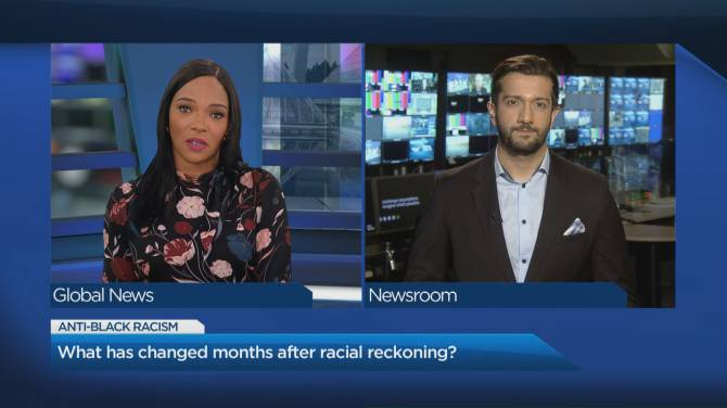 Click to play video: After months of racial reckoning, what has actually changed?