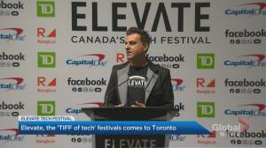 Elevate, the 'Tiff of tech' festivals comes to Toronto
