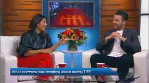 The most tweeted about TIFF moments (03:49)