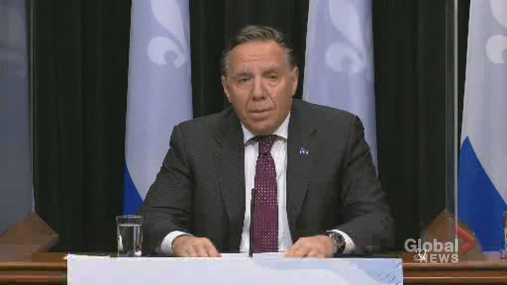 Quebec Premier Legault introduces new restrictions for people in 'red zones''
