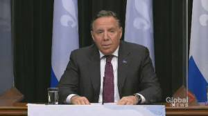 Coronavirus: Quebec Premier Legault introduces new restrictions for people in 'red zones'