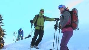 Survivors share harrowing experience in new avalanche safety initiative (01:56)