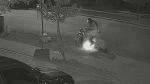 Video released of pair linked to string of fires in Waterloo (00:48)