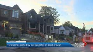 Fire breaks out at new-build home under construction in Scarborough