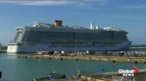 Cruise ship with 6,000 passengers stuck at Italian port after coronavirus scare