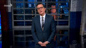 Stephen Colbert jokes about Trump's impeachment