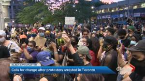 Demands to drop charges against protesters who defaced Toronto statues (02:07)